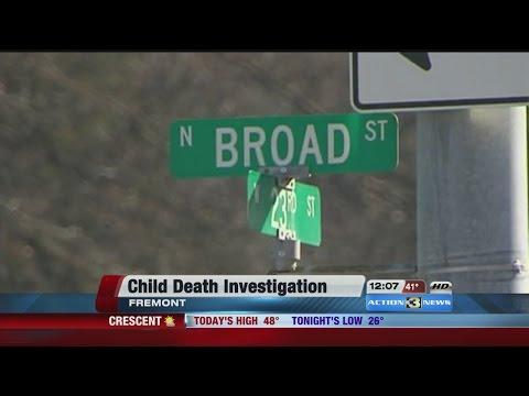 Police investigate death of Fremont girl