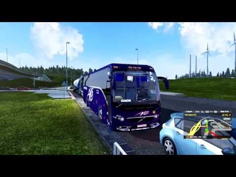 LD Paradiso G7 1600 + Passengers Mod + Trafico buses | Euro