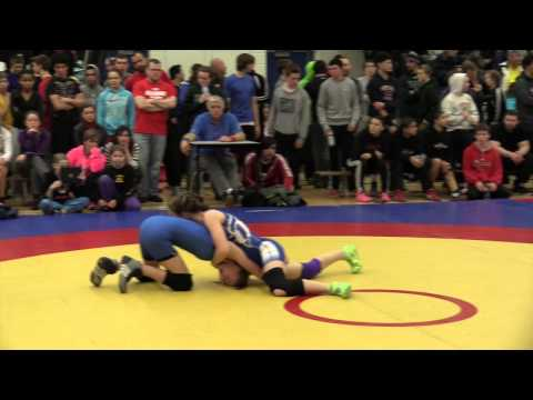 2014 Matmen Classic: 52 kg Brooklyn Thomson vs. Erica Stirling