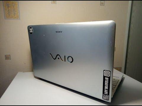 Обзор на Sony Vaio с апгрейдом от #TRAVINLABS