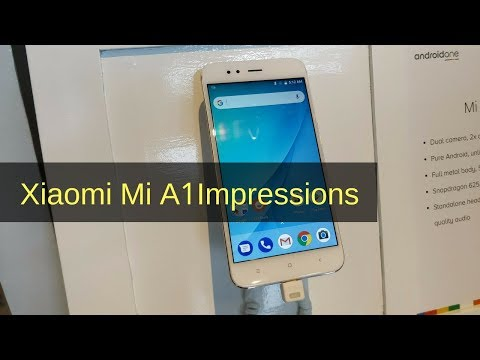 Xiaomi Mi A1 Review Videos