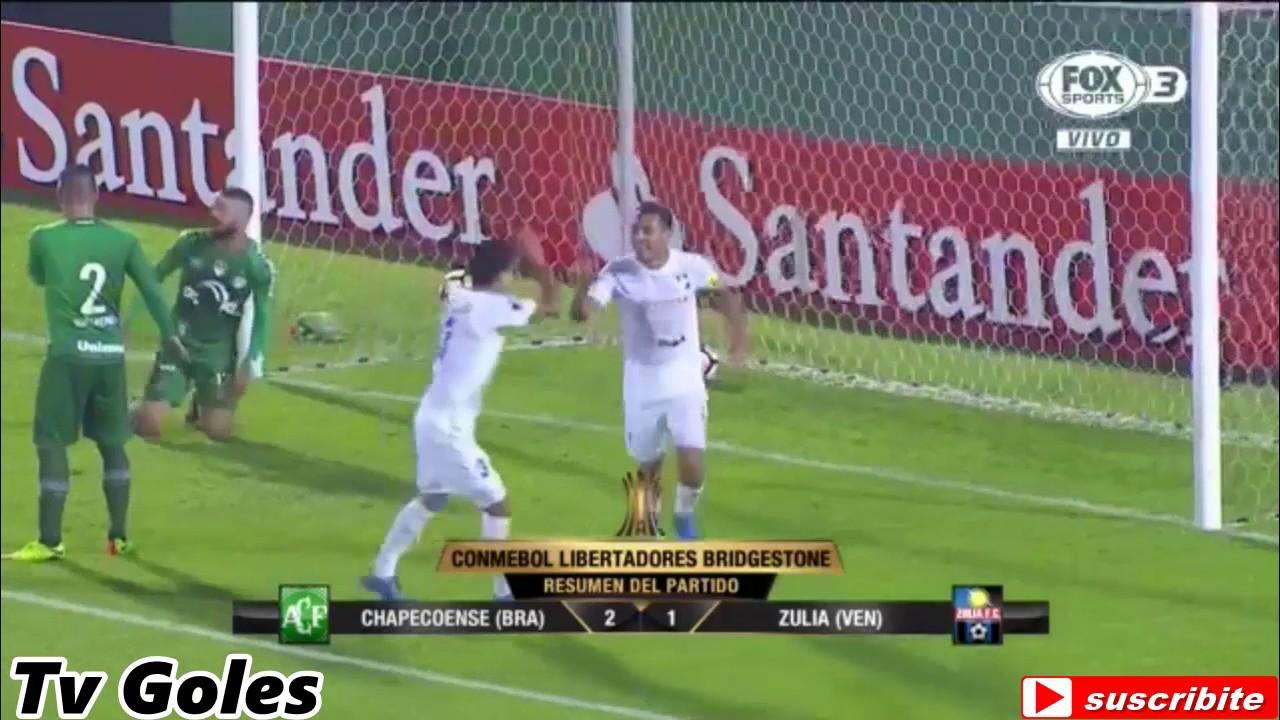 Chapecoense SC 2-1 Zulia FC