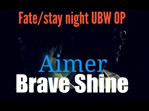English sub - Fate/stay night UBW OP2 - Brave Shine/Aimer (Full cover)