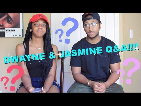 200k Special: Dwayne And Jasmine Q&A! + How We Met Reenactment  (Warning: Very Long)