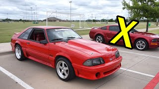 1991 Mustang GT (Foxbody) // Review!