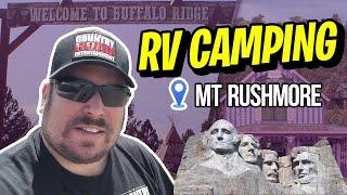 RV Camping in Custer, SĎ and Mt Rushmore - South Dakota