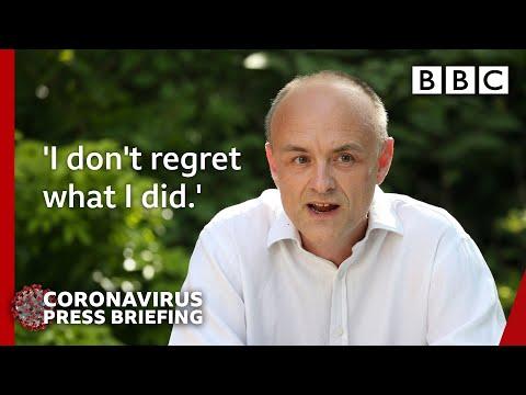 Coronavirus: Dominic Cummings Says He 'behaved Reasonably' In Lockdown 🔴 @BBC News - BBC