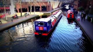 [癒しの音楽]Birminghamイギリス・バーミンガム 運河散歩道