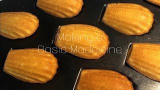 (학생베이킹)간단한 기본 마들렌 만들기 /기본마들렌/빵…