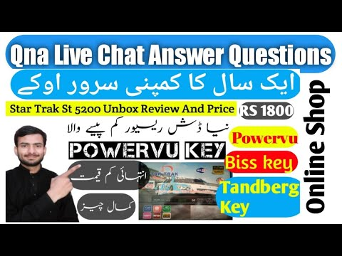 Qna Live chat Star Trak St 5200 Buy 1800 Only All Ok