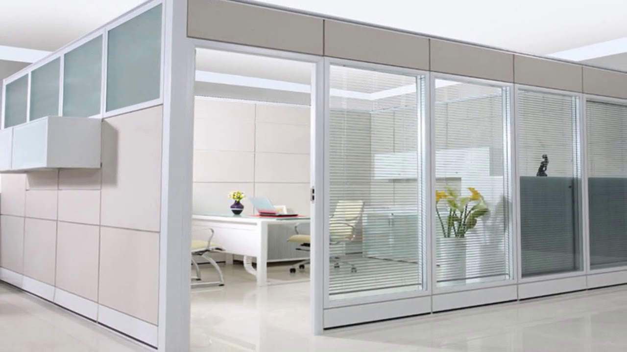 Office Partition Walls Glass With Doors Ideas