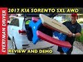 2017 kia sorento review demo on everyman driver