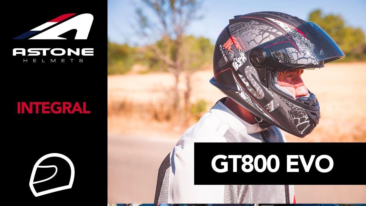 Casque Moto Astone Helmets Gt800 Evo Youtube