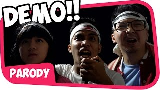 DEMO PANAS with Cindy Gulla !! [kompilasi parodi]
