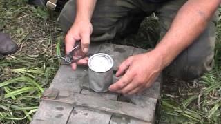 Дегустация консервов 70летней давности из пакета Н.З. летчика-истребителя