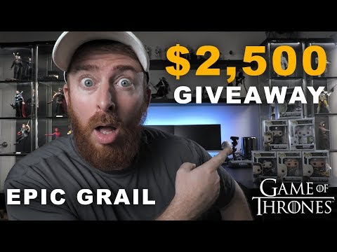 $2500 Game of Thrones Giveaway - Funko Grails & More