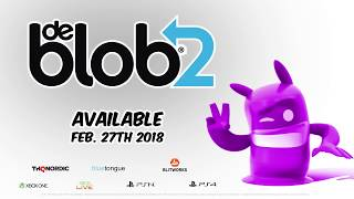 de Blob 2 - PS4 and Xbox One Trailer