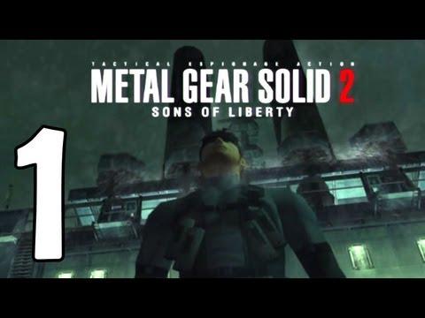 Metal Gear Solid 2 Walkthrough Part 1 - Tanker Infiltration (HD Remaster)