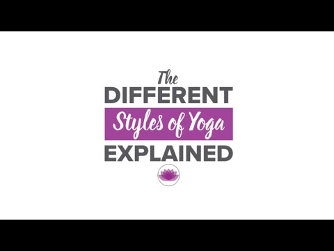 The Styles Of Yoga Demystified