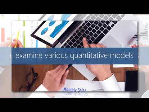 Quantitative Analysis For Decision Making