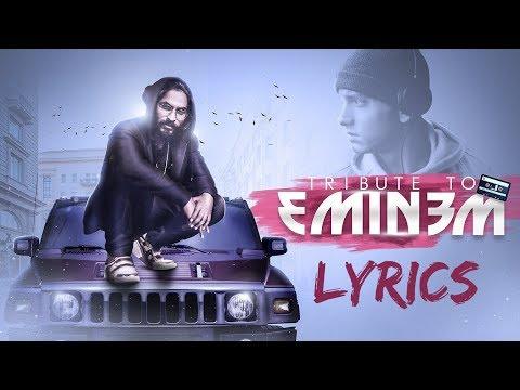 Emiway - Tribute to Eminem LYRICS / Lyric Video