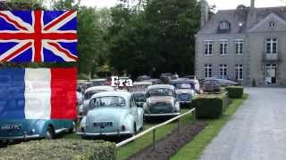 MORRIS MINOR OWNERS CLUB - 2013 - CHATEAU de LEZ-EAUX