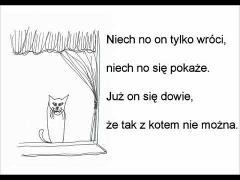 Kot W Pustym Mieszkaniu Wisława Szymborskawmv Youtube