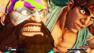 Sfv Zangiefsgym (Zangief) vs RezidencijaZia (Ryu) Battle Lounge - Match 04