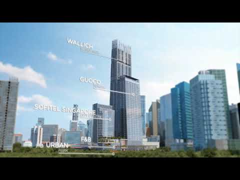 Tanjong Pagar Vertical City - Wallich Penthouse Series