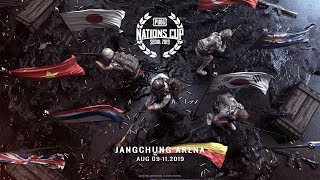 [JP] PUBG Nations Cup 2019 Day1