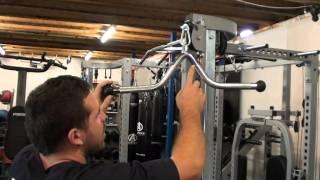 MPVB Multi Purpose V Bar attachment - Home Gym Exercises - Force USA Gym Equipment