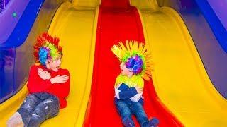 Детская игровая...Funny Indoor Playground for Kids Play Time.