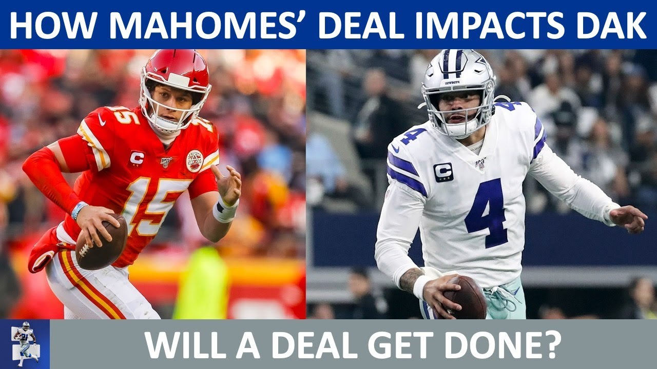 Cowboys Rumors: How Dak Prescott's Contract Extension Is Impacted By Patrick Mahomes' Record Deal