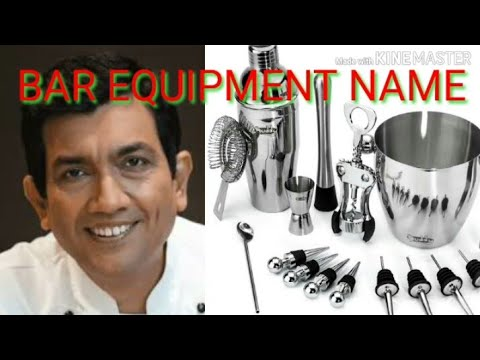 Bar Equipments And Tool! ! Bar Equipments Name And Use! ! Bar Tool's! ! Hindi! !