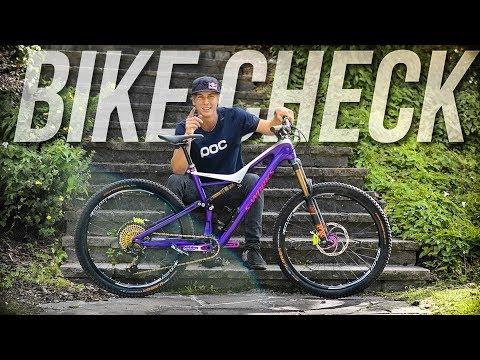 The Urban Freeride Machine - Bike Check Fabio Wibmer 2017