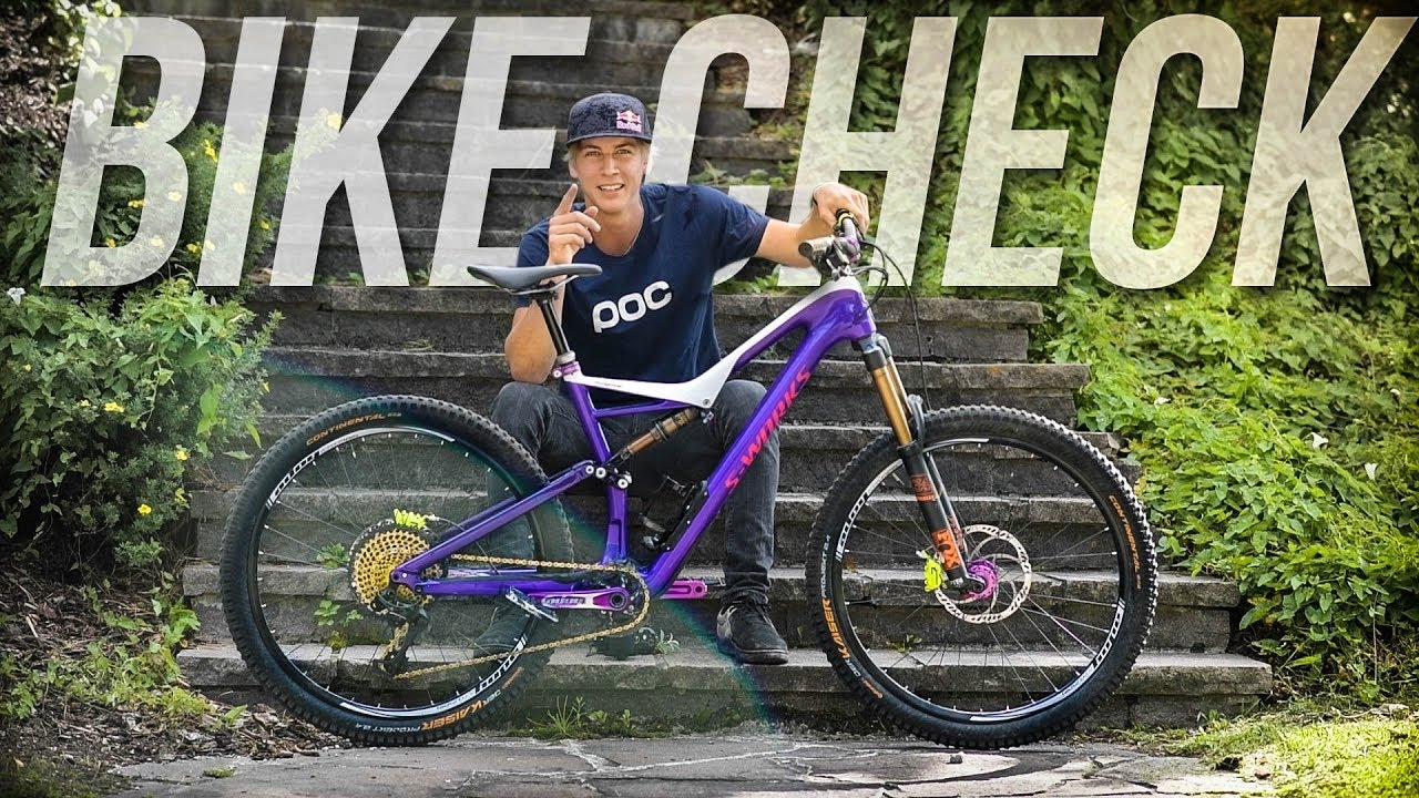 The Urban Freeride Machine Bike Check Fabio Wibmer 2017
