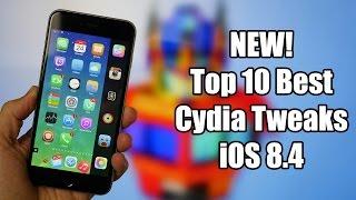 NEW! Top 10 Best Cydia Tweaks iOS 8.4 & iOS 8.3! iPhone, iPad, iPod