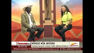John DeMathew last interview with Wangeci Wa  Kariuki on Kameme Tv. FROM A BUTCHER TO MUSICIAN