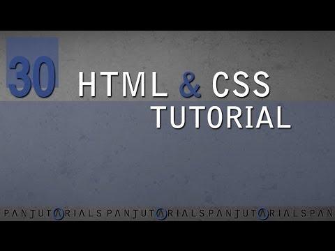 HTML & CSS Tutorial Für Anfänger 30 -- Hintergrundbild Einfügen