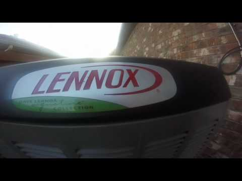 Brand New 2016 Lennox XC25 5 ton Central Air Conditioner Running!