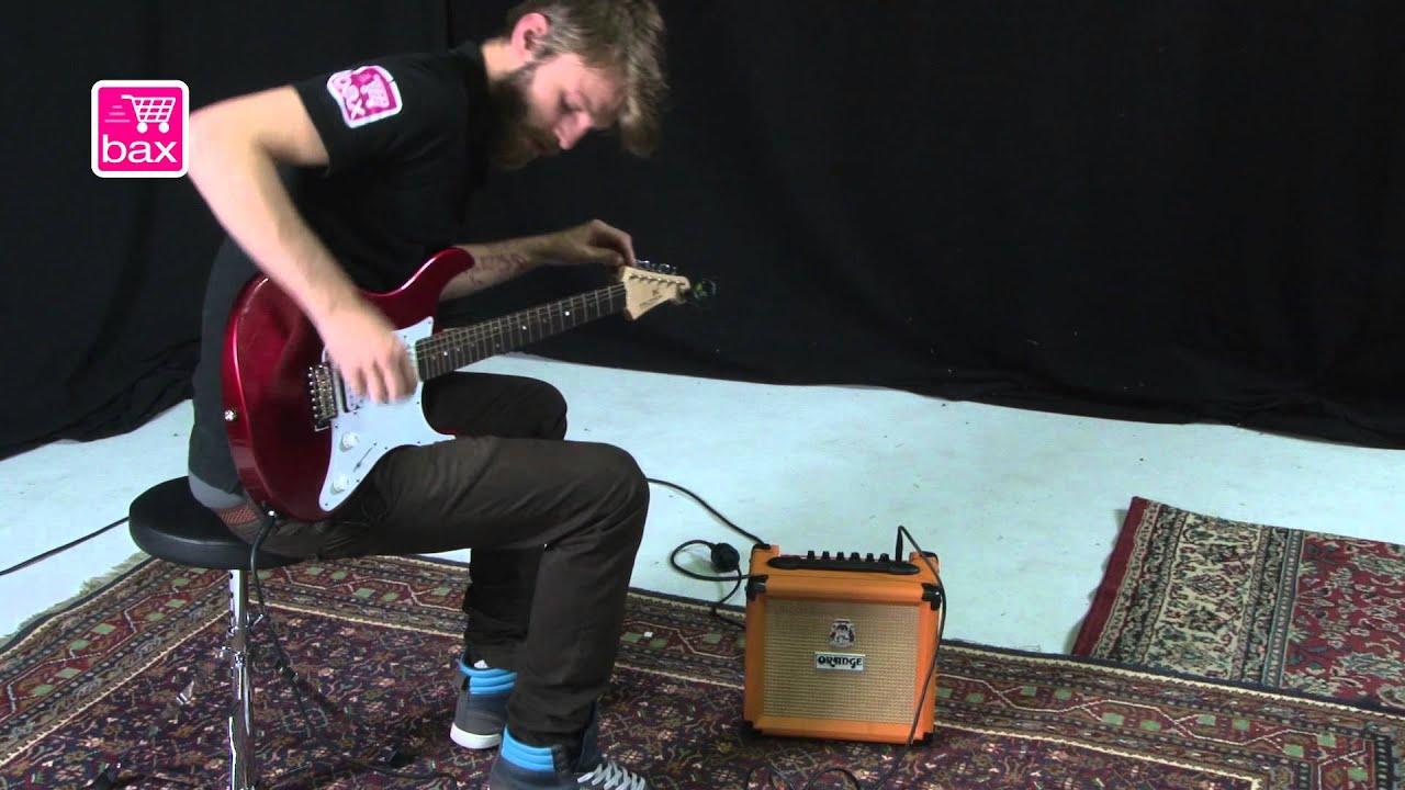 Elektrische Gitaar Startersset Yamaha Pacifica 012rm Set Youtube