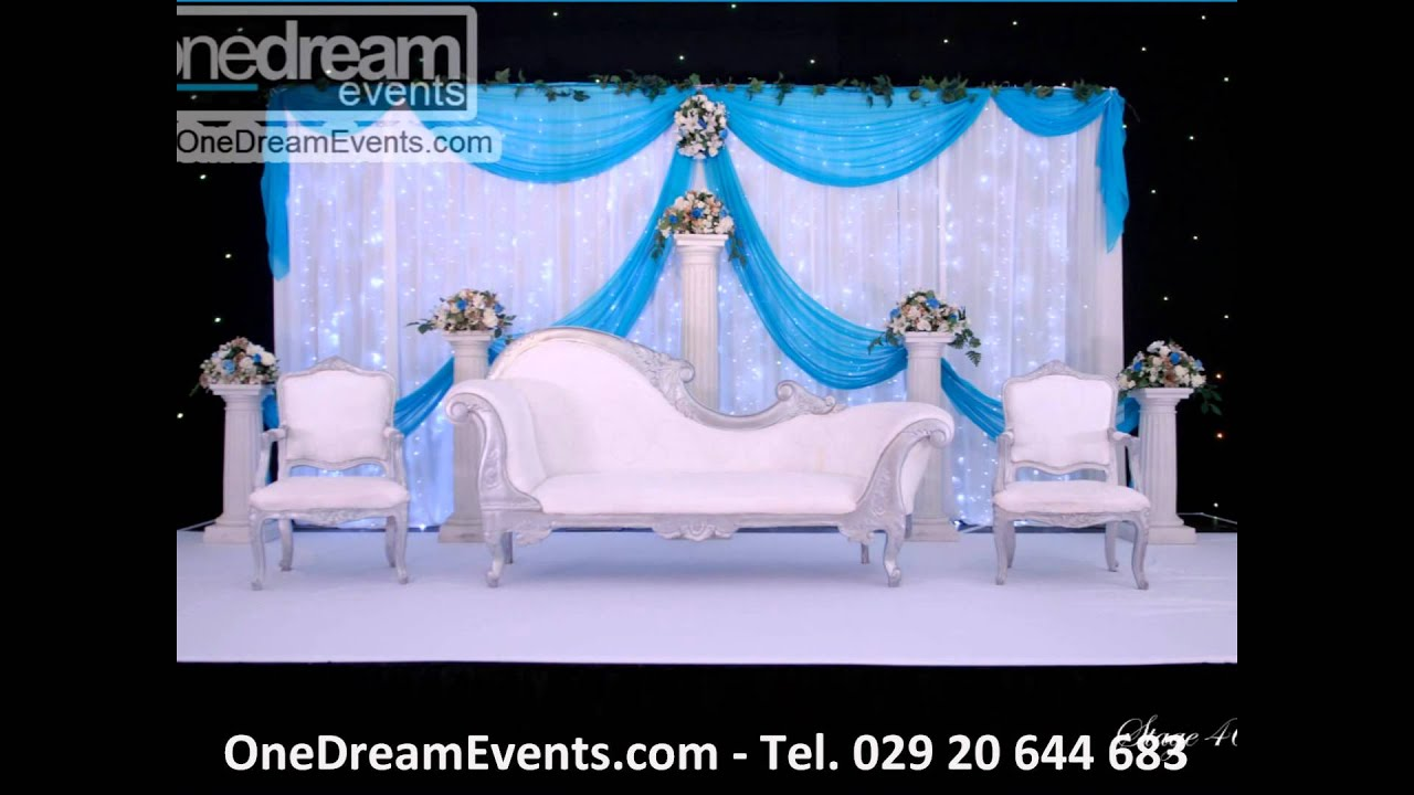 Muslim wedding stages by one dream events asian wedding muslim wedding stages by one dream events asian wedding specialists cardiff bristol nationwide youtube junglespirit Images