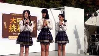 20141116大阪の陣400年天下一祭 本丸ステージにて。 永野芹佳(大阪) ...