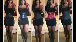 Repeat youtube video Corset Training ( Review of my Corsets)
