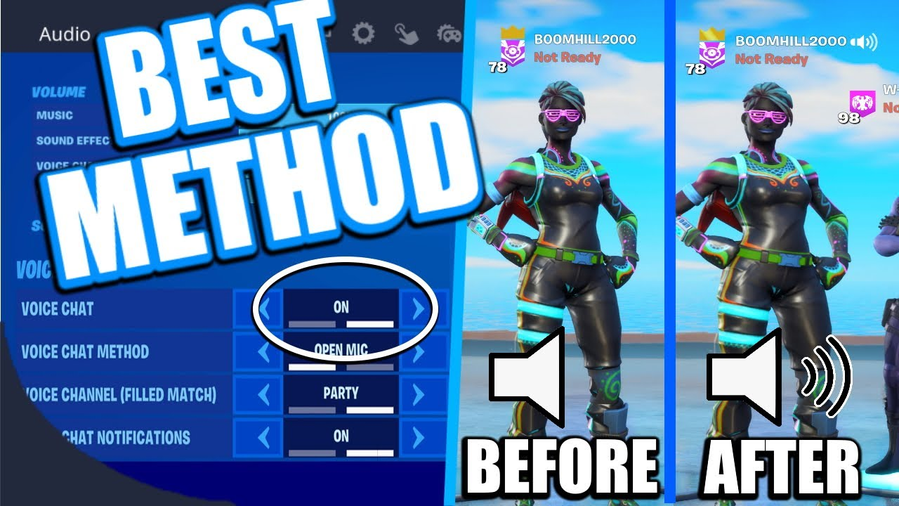 Fortnite Game Chat Not Working FIX PS4 2020 (HOW TO FIX VOICE CHAT FORTNITE PS4) Working Method!