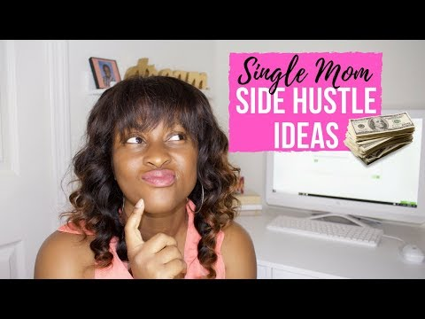 5 Single Mom Side Hustle Ideas