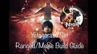 Endgame Yatagarasu Set   Nioh 2 Ranged & Melee Build Guide