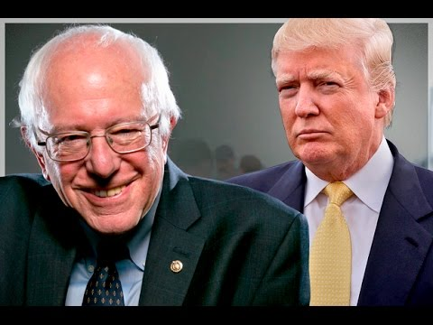 Bernie Pulls Off Biggest Upset In Primary History, Trump Dominates