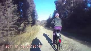 Монетный. Велотрэк Солнечная - Благодатный - Молодёжный.
