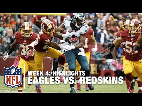 Eagles vs. Redskins | Week 4 Highlights | NFL